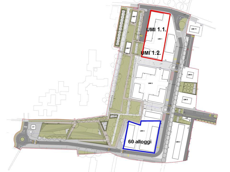Planimetria area Mattuglie oggetto di dazione in pagamento